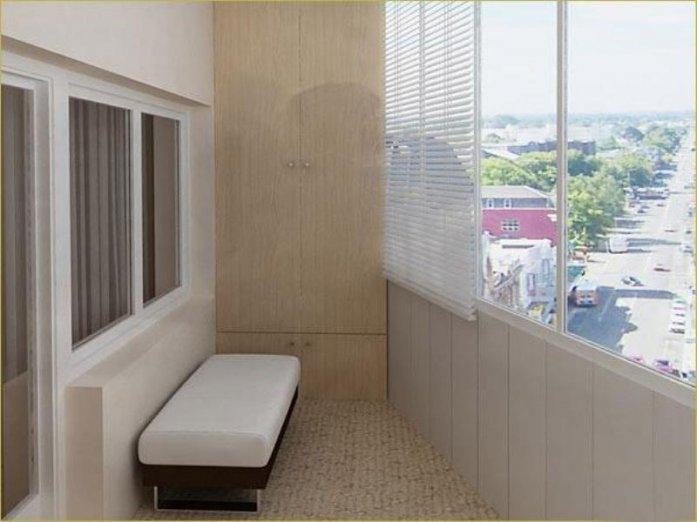 Головна / Обробка балконів і